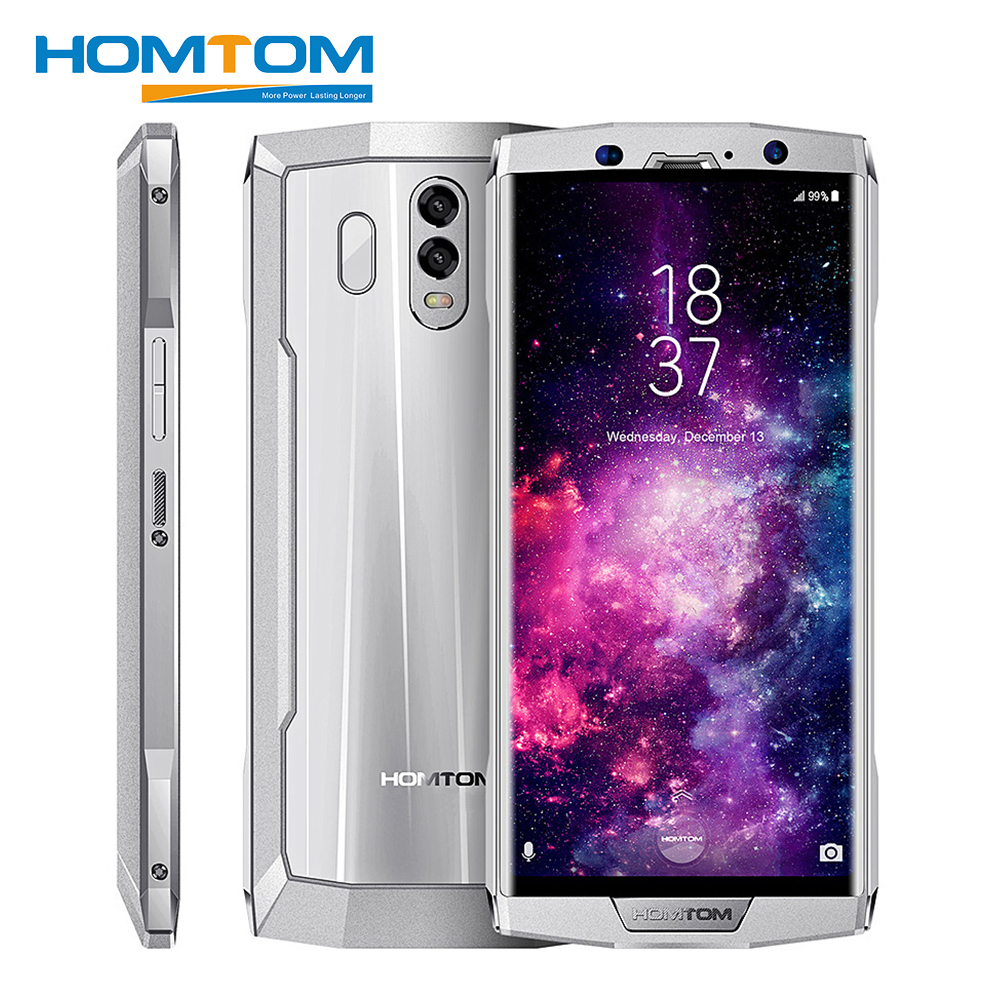 HOMTOM HT70 4g Phablet Smartphone 6.0 pouce Android 7.0 MTK6750T Octa Core 4 gb RAM 64 gb ROM Triple caméras 10000 mah Mobile Téléphone