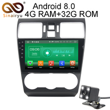 Sinairyu 9 inch Android 8.0 8 Core 4G RAM Car DVD GPS For Subaru WRX Forester 2014 2015 2016 WIFI Autoradio Multimedia Stereo