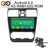 Sinairyu 9 Inch Android 8 0 8 Core 4G RAM Car DVD GPS For Subaru WRX