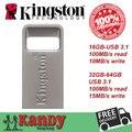 Kingston металла micro mini usb 3.0 3.1 флэш-диск ручка drive 16 ГБ 32 ГБ 64 ГБ cle usb stick pendrives chiavetta memoria оптовая
