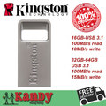 Kingston metal micro mini usb 3.0 3.1 flash drive pen drive 16gb 32gb 64gb cle usb stick chiavetta pendrives memoria Wholesale