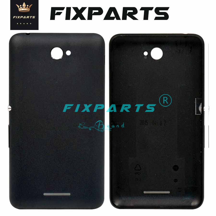 For SONY Xperia E5 E4 Battery Cover Back Door Rear Housing Case Chassis For 5.0 SONY E5 Battery Cover F3311 F3313 Replacement image