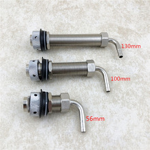 Home Brewing Beer tap Shank G5/8 With Nut Tail Kit for Adjustable Faucet Tap Kegerator Bar Wine Making Tools