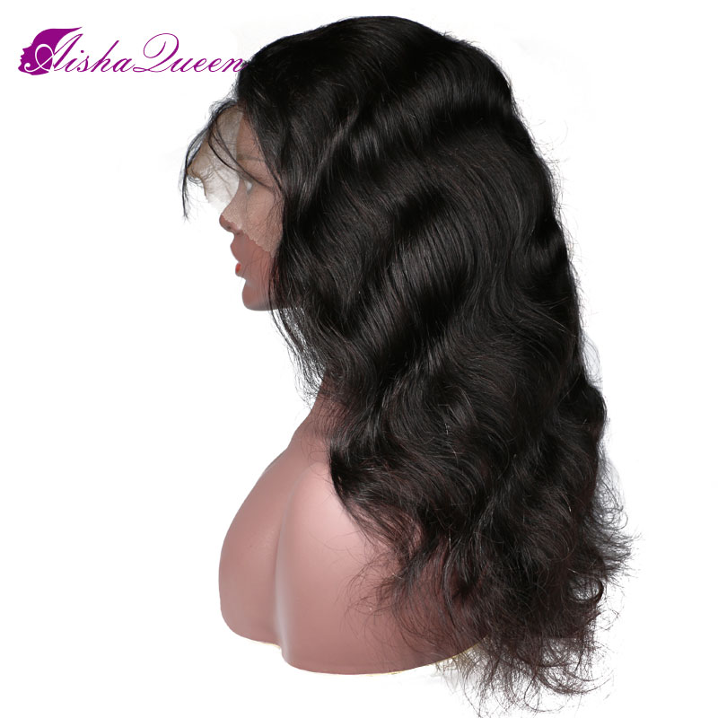 Silk Base Body Wave Wig Full Lace Human Hair Wigs For Black Women Brazilian Remy Human Hair Wigs 4x4 Top Silk Wig With Baby Hair