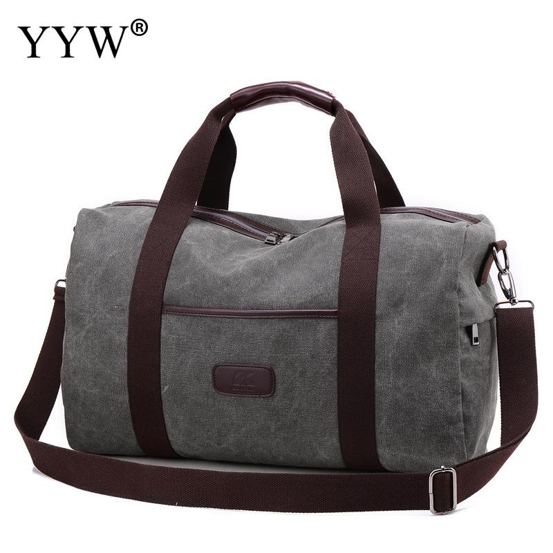 Fashion Male Tote Bag Solid Color Soft Canvas Bags Gray Travel Men's Handbag Army Green Shoulder Crossbody Bag Travel Handbags fashion male top handle bag solid color canvas bags blue men s handbag brown tote bag for man and boy multifunction handbags