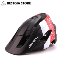 CAIRBULL Cycling Helmet Road Mountain MTB DownHill Integrally In-mold Bicycle Helmets Ultralight Bike Cap 54-62CM Casco Ciclismo