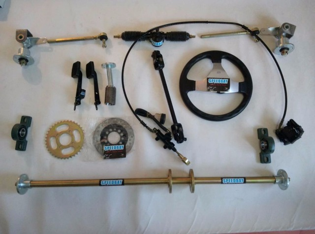 Go Kart Axle : Aliexpress buy karting go kart f axle bearing