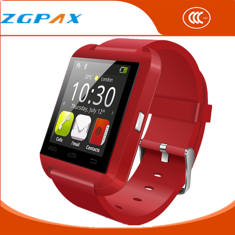 UWatch Montre Connecter Sport Bluetooth Smart Watch for Windows Phone Touch Screen pedometer Men U8 Plus