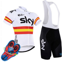 2017 Herren Radtrikot Cyclisme Equipe Pro MTB Bike Kleidung SKY Team Radsportbekleidung Ropa Ciclismo Trikots PRO