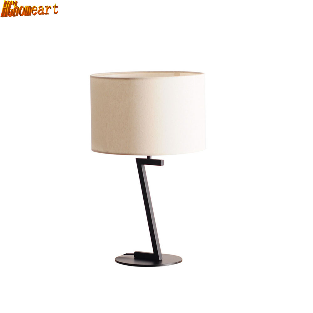 Moderne einfache wohnzimmer schlafzimmer tischlampe neue chinesische skandinavischen persönlichkeit kreative kunst beleuchtung mode führte nachttischlampe