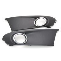 1 Pair Fog Lamp Bezels Covers Front Bumper Fog light Covers With Hole for VW POLO SEDAN VENTO