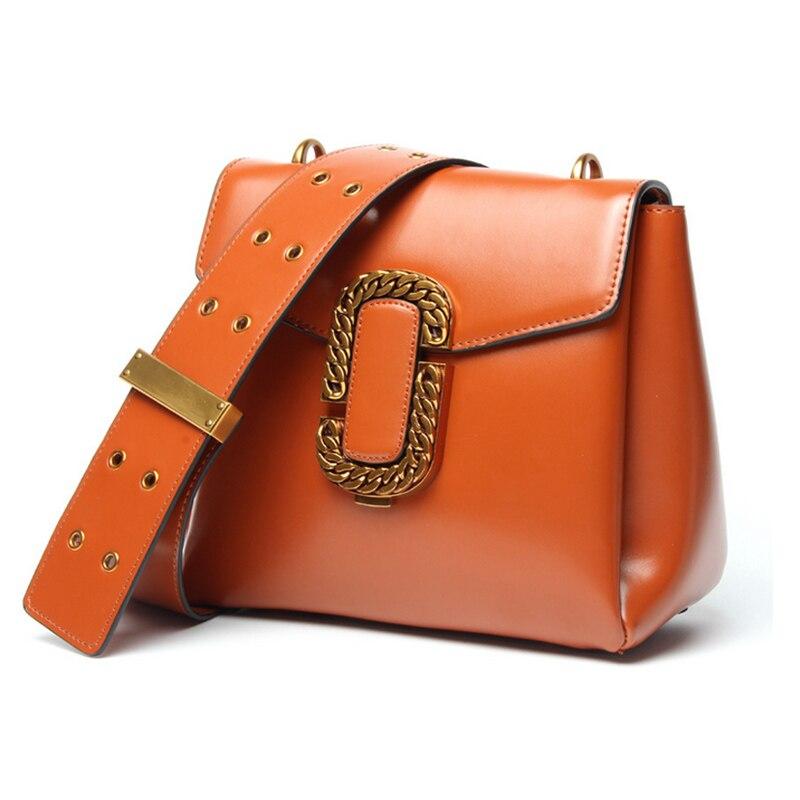ФОТО 2017 Spring New Fashion European Style Cowhide Bag Women Handbag Single Shoulder Bags Genuine Leather Famous Brand Totes Female