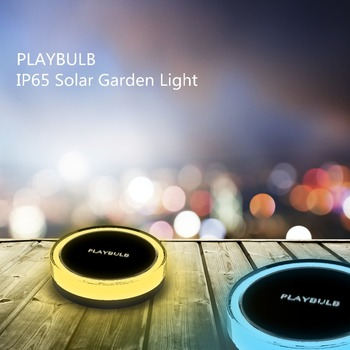 PLAYBULB Waterproof IP65 Outdoor LED Solar Lamp Automatically Open at Night Ground Light for Garden Lawn Path