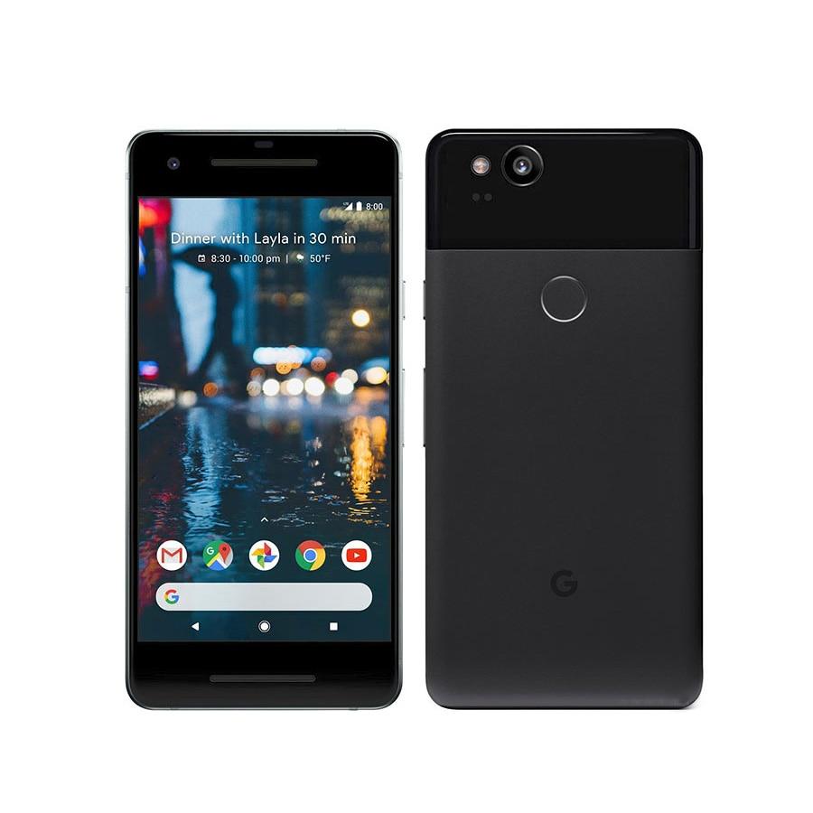 Original US Version Google Pixel 2 Mobile Phone 5 0 4GB RAM 64GB 128GB ROM Octa