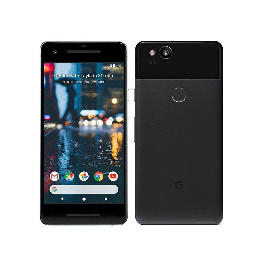 Original US Version Google Pixel 2 Mobile Phone 5.0 4GB RAM 64GB/128GB ROM Octa Core Snapdragon 835 Android 8.0 NFC Smart Phone