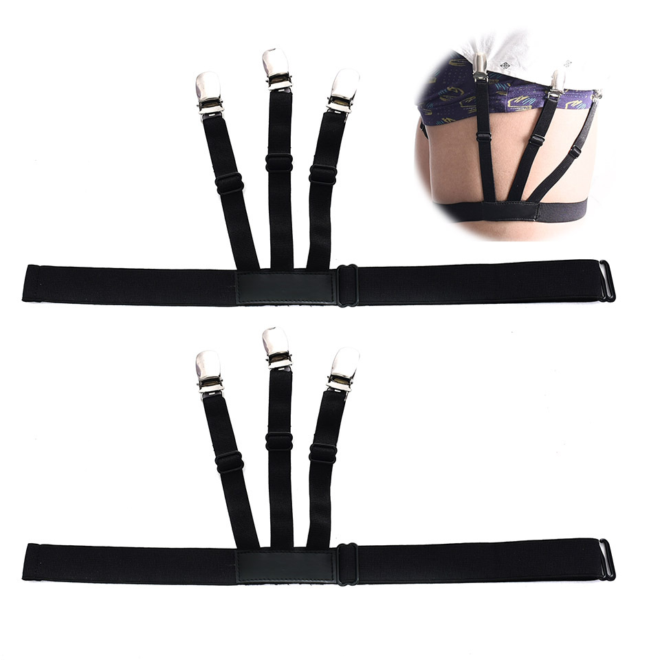 US $2.35 25% OFF|2018 Newest Men's Shirt Stays Garters Elastic Adjustable Shirt Holders Crease Resistance Belt Non slip Buckle Style Suspenders-in Suspenders from Apparel Accessories on Aliexpress.com | Alibaba Group