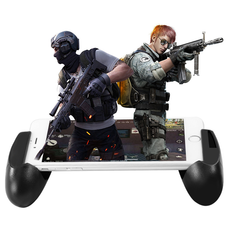 Smart phone Mobile Gaming Trigger L1R1 Shooter Controller Knives out Rules of Survival Mobile Game Fire Button Aim Key With pad