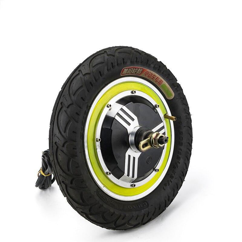 Roue électrique sans balais moteur de moyeu sans engrenage pour 12 pouces arrière avant moteur Scooter électrique vélo Ebike e-car Kit partie