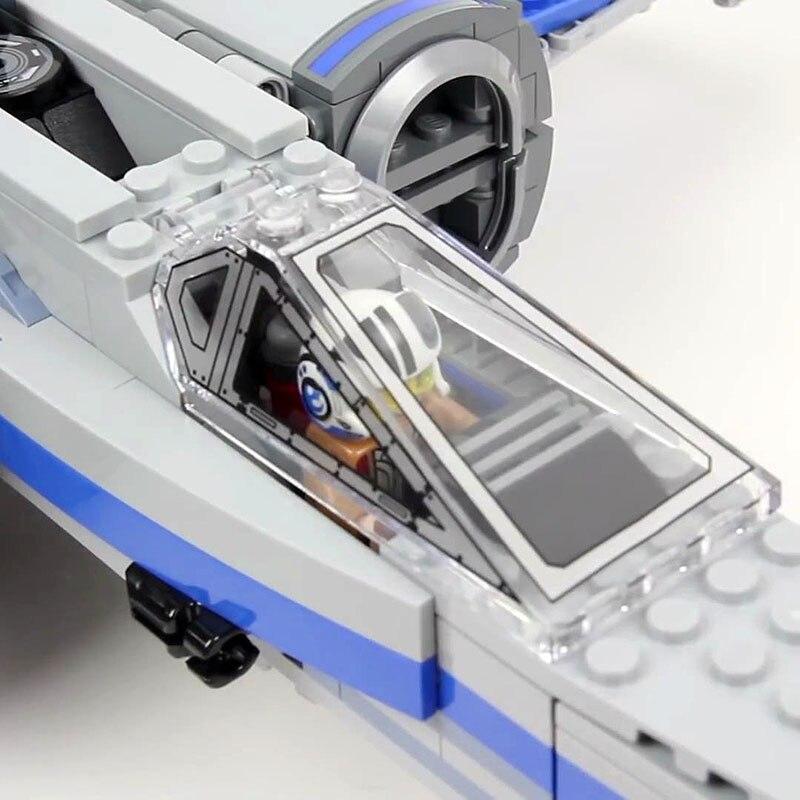 Лепин 05029 Star первый заказ POE X-истребитель крыла строительные блоки x Star крыло план Игрушечные лошадки для детей 75149 войны