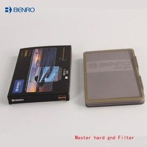 Image 2 - Benro Мастер 100x150 мм квадратный фильтр жесткий gnd4 gnd8 gnd16 вставка GND0.9 ультра двойные нано оптические стеклянные фильтры с покрытием