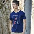 Pioneer camp homens t-shirt da marca clothing 2017 verão de moda de nova camisa dos homens t shorts desgaste tshirts de impressão de algodão solto masculino