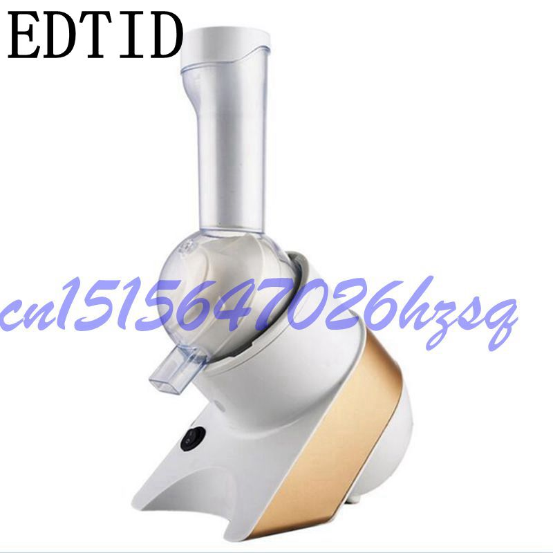 EDTID Household fruit Ice cream machine automatic intelligent children DIY ice stick Dessert Maker Blender frozen 0.5L edtid ice cream machine household automatic children fruit ice cream ice cream machine barrel cone machine