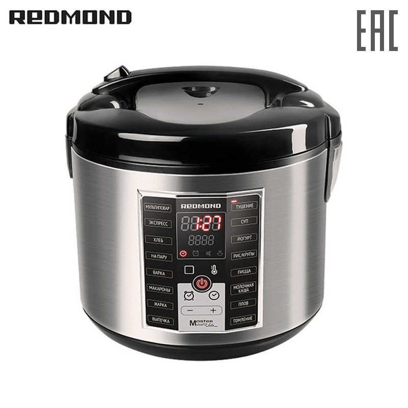 Multi Cooker REDMOND RMC-M25 multivarka multivarki multivarka cooker multicookings zipper pressure cooker Multivark multicooker dfh 705 electro thermal lunch box pluggable heating three layers multifunctional steamed rice cooker mini portable rice cooker