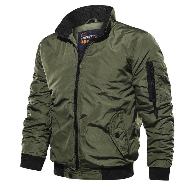 Armée Air Force mouche pilote veste militaire aéroporté vol tactique Bomber veste hommes hiver chaud aviateur moto manteau taille 5XL