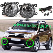 halogen Fog Lights for Renault Duster For Dacia Logan Sandero 2004-2015 Lamp Assembly Super Bright Light