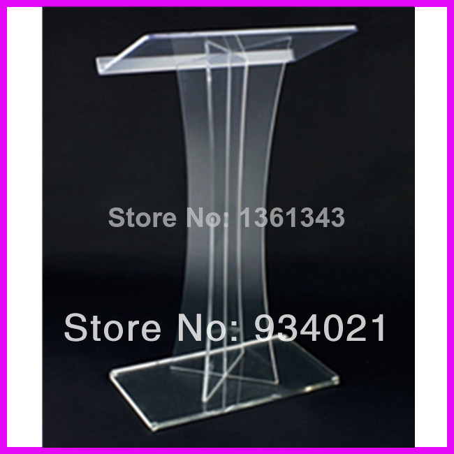 Hot Selling Acrylic Church Lectern Acrylic Pulpit Furniture