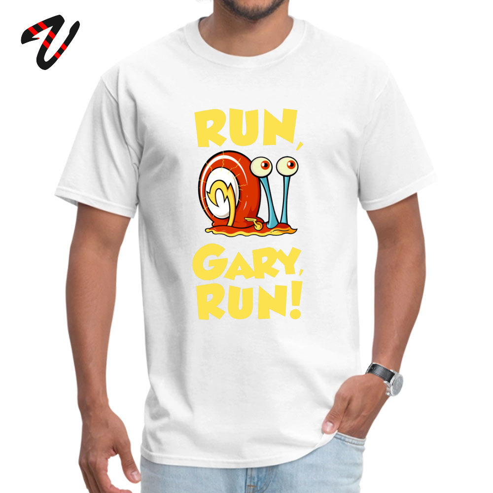 Run Gary RUN T Shirt Latest Round Collar Design Short Sleeve 100% Cotton Fabric Male T Shirts Hip hop Tops T Shirt Run Gary RUN 9540 white