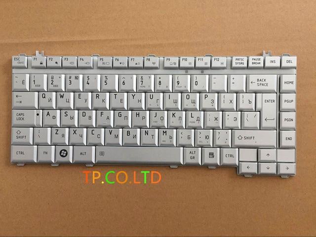 Новый RU клавиатура Ноутбука ноутбук для Toshiba Satellite L200 L300 A200 A205 A210 A215 A300 M200 M205 M333 Серебряный Русский NSK-TAD0R