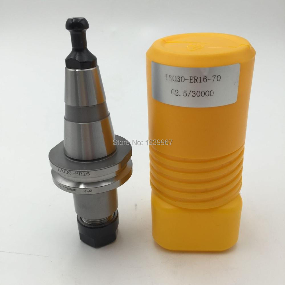 ISO30 ER32-70L Balance Collet Chuck G2.5 30000rpm CNC Tool Holder Stainless Steel With Pull Stud Woodworking Machine цена