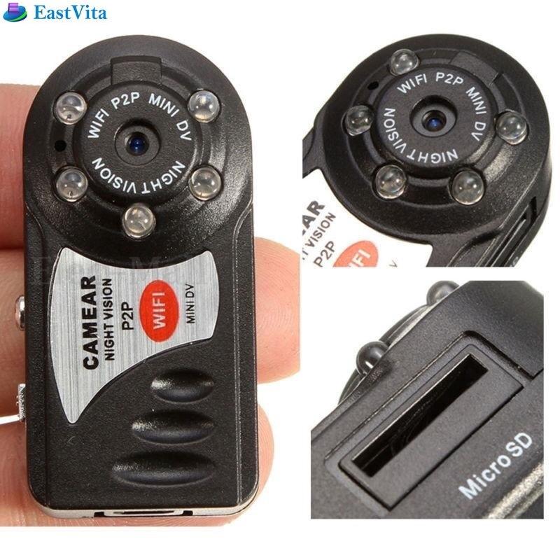 EastVita Q7 Mini Wifi DVR Wireless IP Camcorder Video Recorder Camera Infrared Night Vision Camera Motion Detection dropshipping