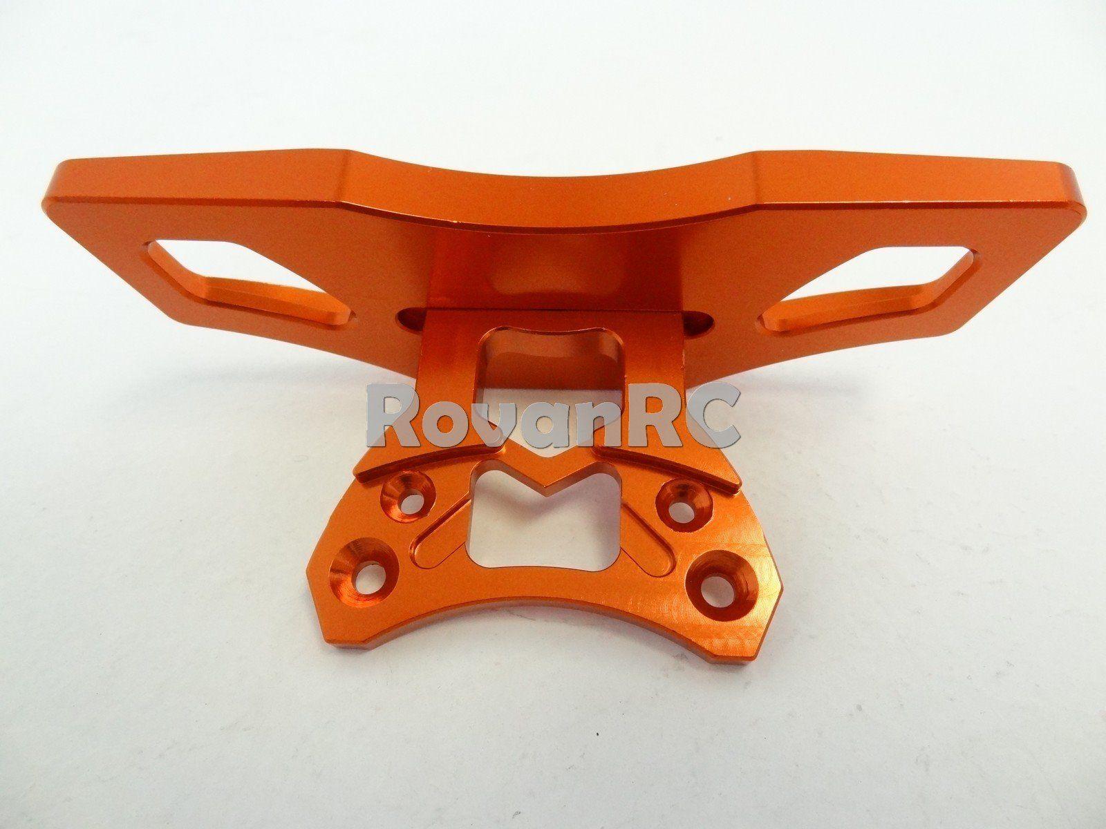 CNC alloy arm code 5mm for HPI Rovan KM baja 5b 5t 5sc orange//silver//red