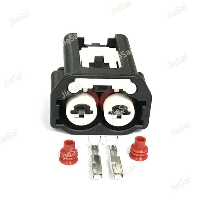 2 Pin Crankshaft Position Sensor Female Connector Auto