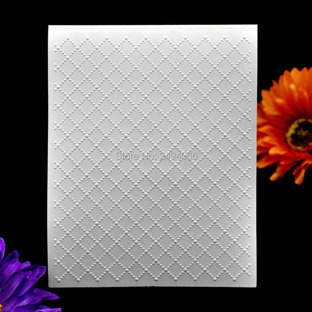 Grille 2 En Plastique Gaufrage Dossier Pour Album DIY Album Carte ...