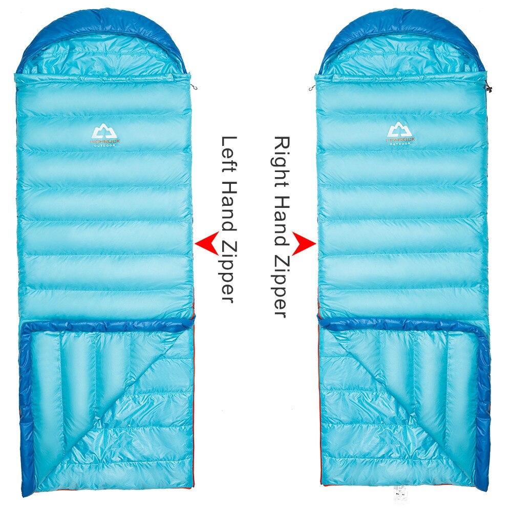 HIGHROCK 0~3C 3 Season Adult Outdoor Camping Down&Cotton Mixture Sleeping Bag,Down&Cotton Mixture,Back Warmer,Splice 2 to Double жидкость mixture mango 59мл 0мг