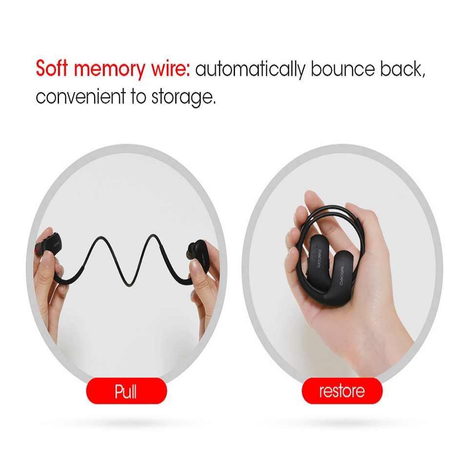 DACOM L05 Bluetooth słuchawki Bass IPX7 wodoodporna sporty bezprzewodowe zestaw słuchawkowy z mikrofonem dźwięk radia na telefon i muzyka darmowa wysyłka