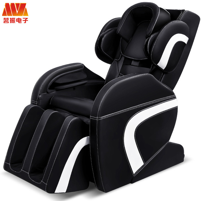 Massage Topper Car Home Office Seat Massager Heat Vibrate Cushion Back Neck Foot Chair