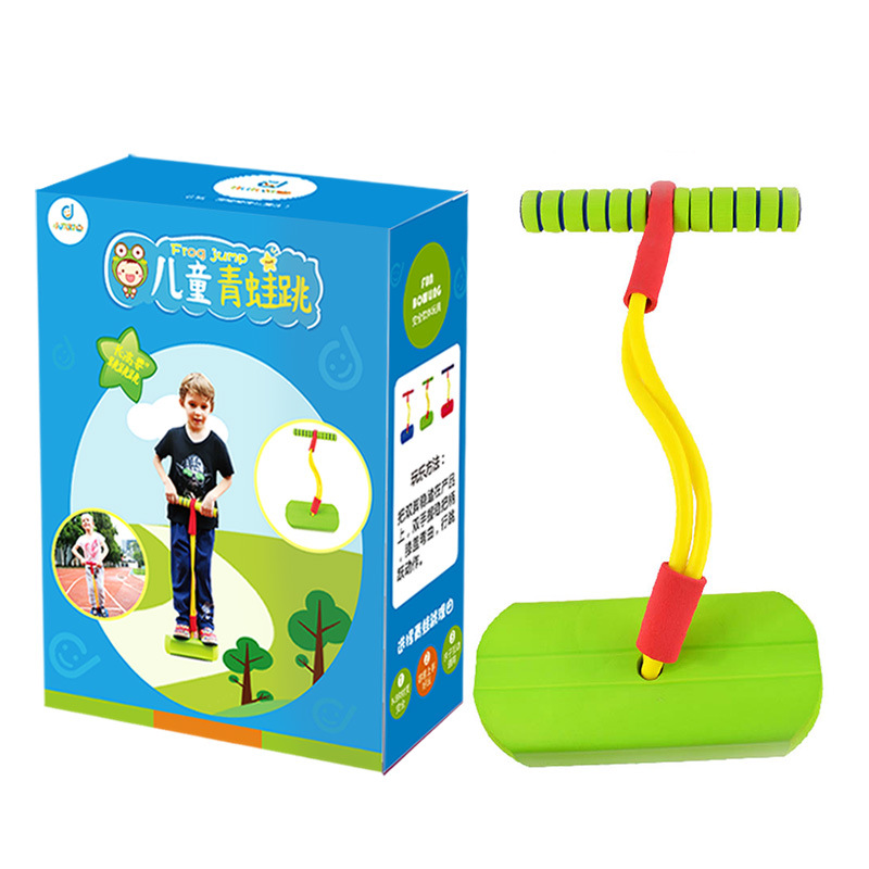 Flybar Foam Pogo Jumper For Kids Fun And Safe Pogo Stick For Toddlers, Durable Foam And Bungee Jumper For Children Toys Gift