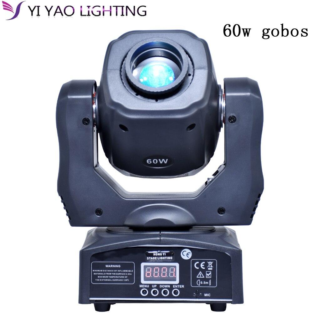 Mini dj moving head light 60w gobos pocket spot light rgbw 4in1 dmx512 control digital display for stage dj lightMini dj moving head light 60w gobos pocket spot light rgbw 4in1 dmx512 control digital display for stage dj light