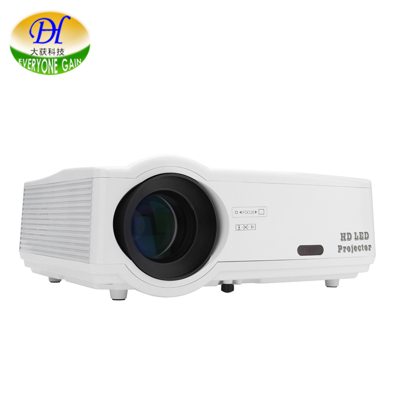 Everyone Gain Highlight 3D TV Projector with LED LCD Video Support 1080P Proyector Full HD Home