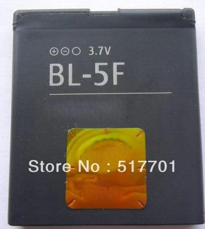 ALLCCX high quality mobile <font><b>phone</b></font> battery BL-5F for <font><b>Nokia</b></font> 6210N 6210S 6210Si 6260S 6710N 6290 <font><b>E65</b></font> N93i N95 N96 N98 N99