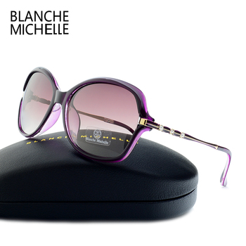 2018 New Fashion High Quality Sunglasses Women Polarized UV400 Sunglass Gradient Lens Butterfly Sun Glasses For Woman With Box 3