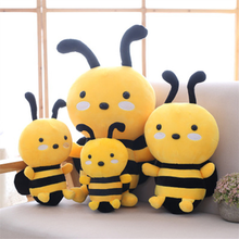 45CM/20CM/25CM/30CM Honeybee Plush Toy Lovely Bee with Wings Soft Stuffed Baby Dolls Children Appease Kids Birthday Gift