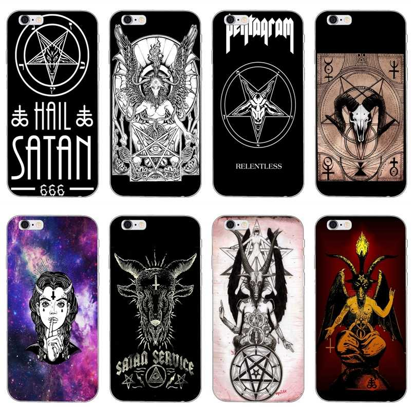 Satan Pentagram Occult Evil For Huawei Honor 10 9 Lite 8 8C 8X 7C 7X 7A 6C pro 6 Play 6X 6A 5A LYO-L21 V8 V10 Soft phone case