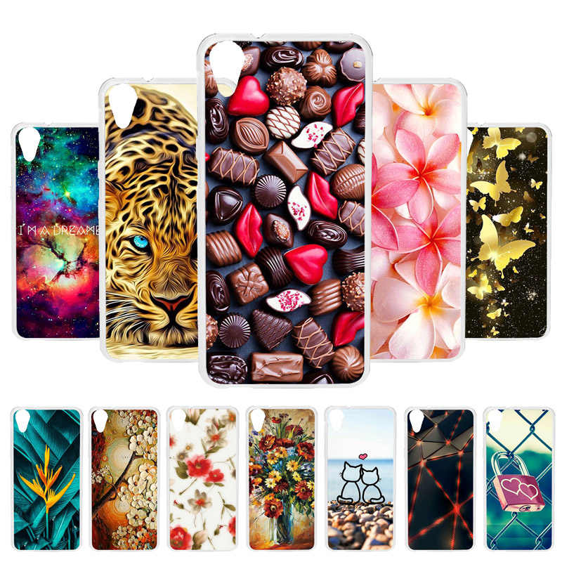 Vanveet Soft Silicon Case For HTC Desire 626 Case Coque For HTC Desire 626 628 A32 626w 626D 626G 626S Cover Painted Back Fundas