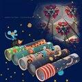 Mideer crianças caleidoscópio rotação variedade prisma colorido mundo preschool educacional ciência brinquedos