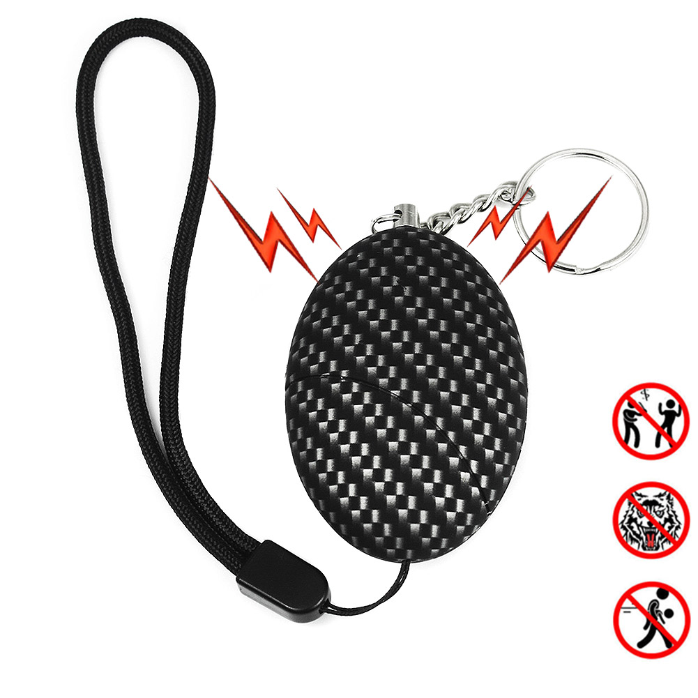 Portable Keychain Personal Security Alarm Anti-Attack Self D